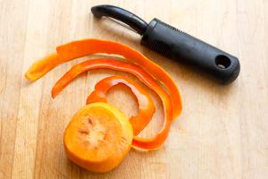 #13 Peel the persimmon