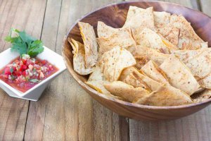 Light & Crispy Oil-free Tortilla Chips