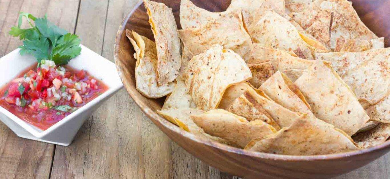 Light & Crispy Oil-free Tortilla Chips