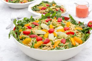 #9 Dressing is ready to brighten salads and vegetables